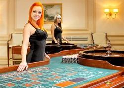 croupier donna roulette