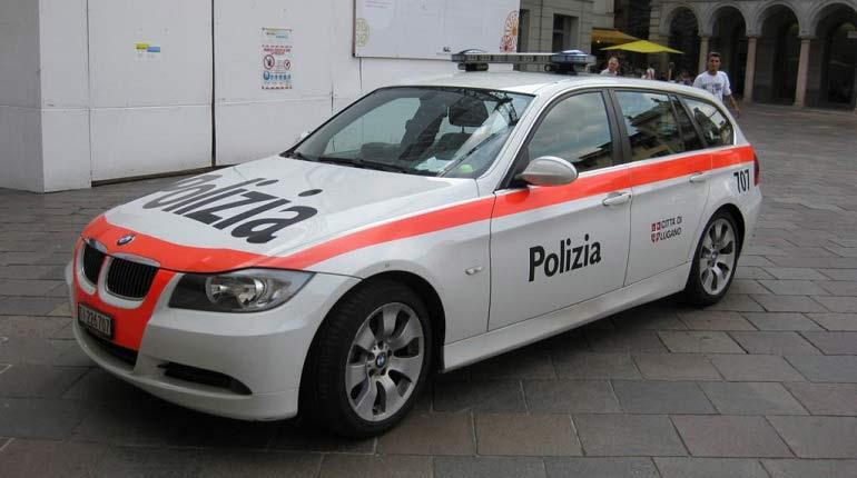 auto polizia svizzera